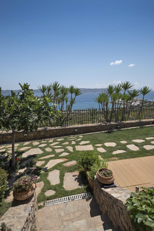 Sounio Villas Exterior View