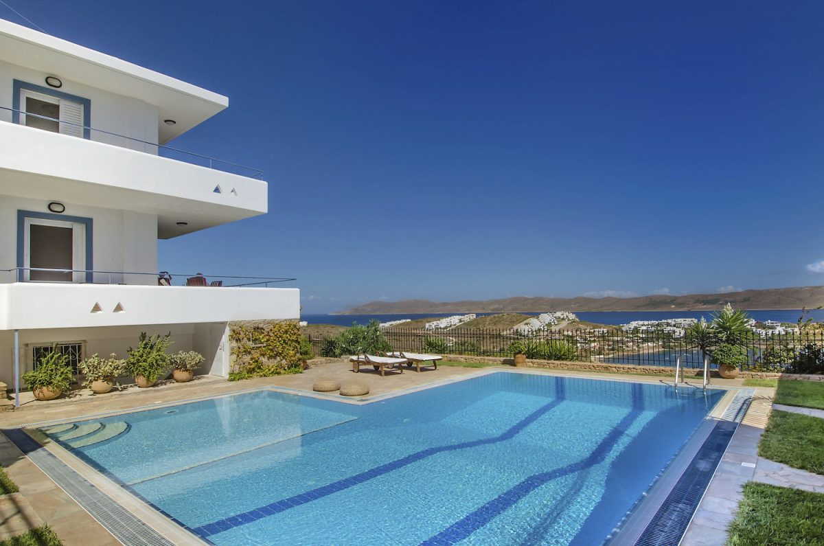 Sounio Villas Exterior View