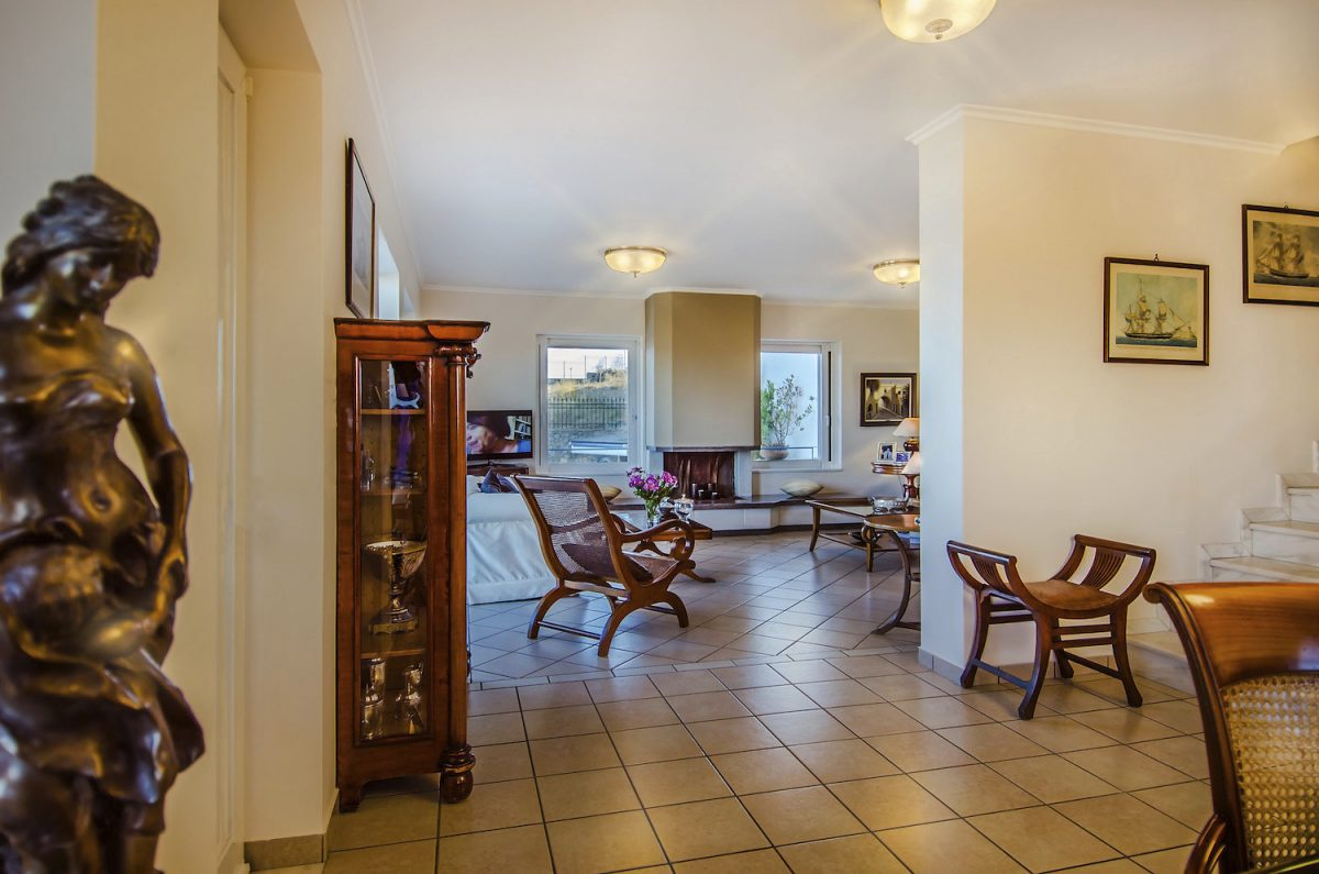 Sounio Villas Interior View